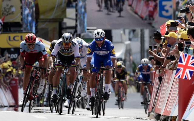 Marcel Kittel (l.) hofft auf einen Etappen-Sieg bei der Tour de France