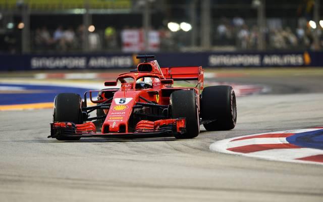 Sebastian Vettel braucht in Singapur einen Sieg