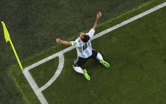 Lionel Messi ist der erste Spieler der WM-Geschichte, der als Teenager, in den Zwanzigern und in den Dreißigern ein Tor erzielt hat
