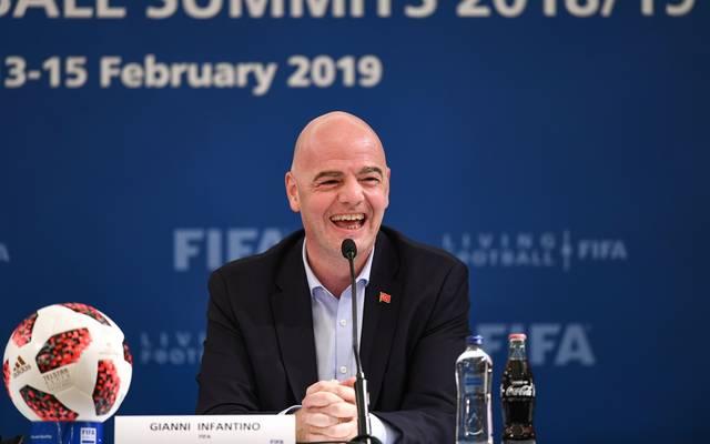 Gianni Infantino ist seit 2016 Präsident der FIFA