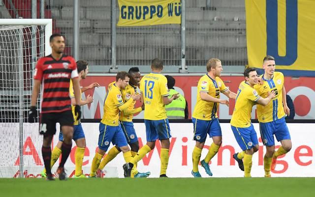 Eintracht Braunschweig gelang nach vier sieglosen Spielen der Befreiungsschlag