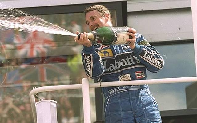 Platz 7: Nigel Mansell ist bis zum Großen Preis von Austin der erfolgreichste Brite, was die Anzahl der Rennsiege betrifft. 31 Siege holt Mansell trotz der starken Konkurrenz von unter anderem Nelson Piquet, Ayrton Senna und Alain Prost