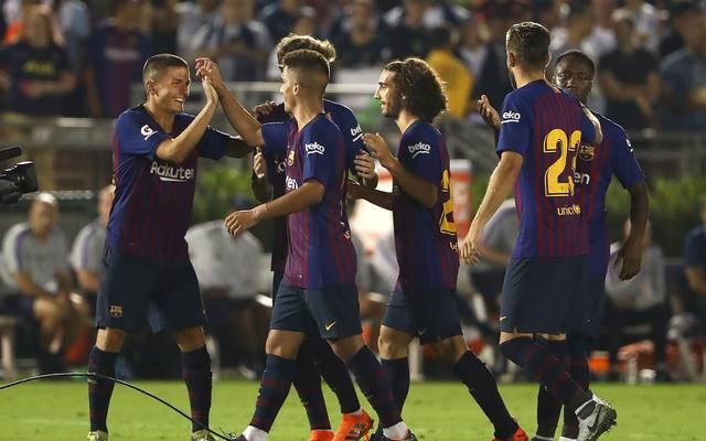 Der FC Barcelona feierte beim International Champions Cup einen erfolgreichen Auftakt