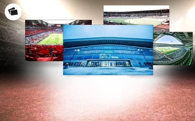 Die Bundesliga-Stadien im Wandel der Zeit