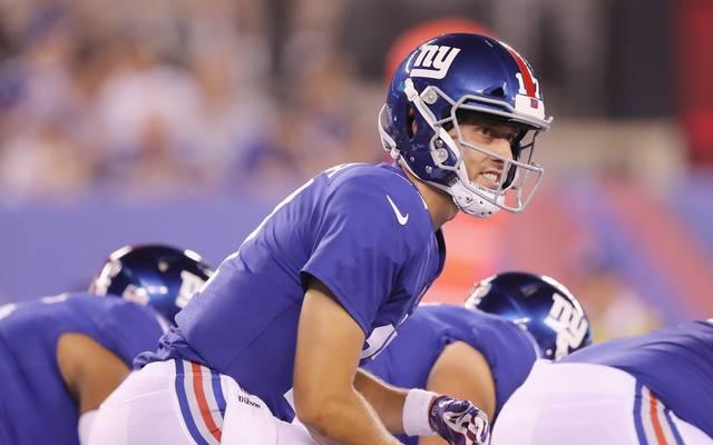 Kyle Lauletta von den New York Giants wurde von der Polizei festgenommen