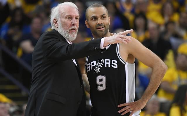 PLATZ 7: Tony Parker (San Antonio Spurs) - 17 Saisons (2001 - 2018)