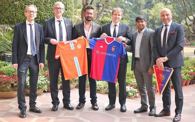 Der FC Basel und Chennai City FC schließen eine Kooperation