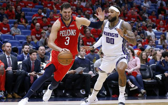 Nikola Mirotic (l.) war mit 36 Punkte der überragende Mann bei den New Orleans Pelicans
