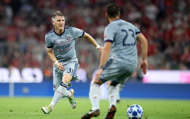 Bastian Schweinsteiger spielte 90 Minuten als Innenverteidiger durch