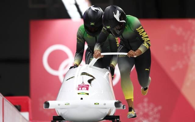 Der jamaikanische Bob landete bei Olympia auf Rang 18