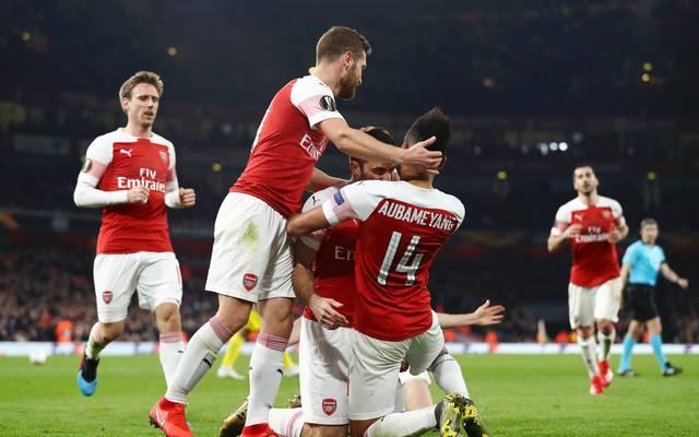 Der FC Arsenal trifft im Achtelfinale der Europa League auf Stade Rennes