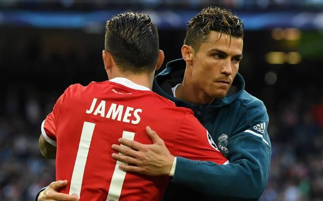James Rodriguez ist noch bis 2019 von Real Madrid an den FC Bayern verliehen