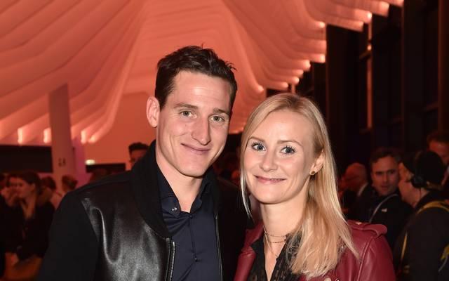 Sebastian Rudy und seine Frau Elena sind zum ersten mal Eltern geworden