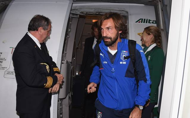 Andrea Pirlo spielte bis 2015 selbst für die italienische Nationalelf