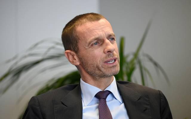 UEFA Präsident Aleksander Ceferin zweifelt noch am Videobeweis