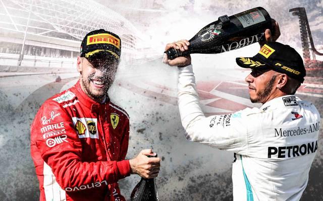 Formel 1: Lewis Hamilton - Sebastian Vettel: Strecken-Check der WM