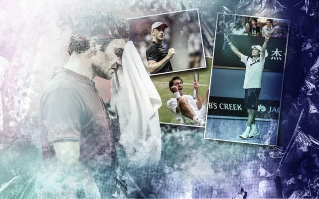 Roger Federer kam bei den US Open 2018 nicht über das Achtelfinale heraus