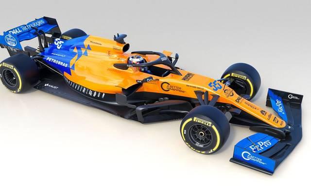 Formel 1: McLaren präsentiert neuen Boliden für kommende Saison