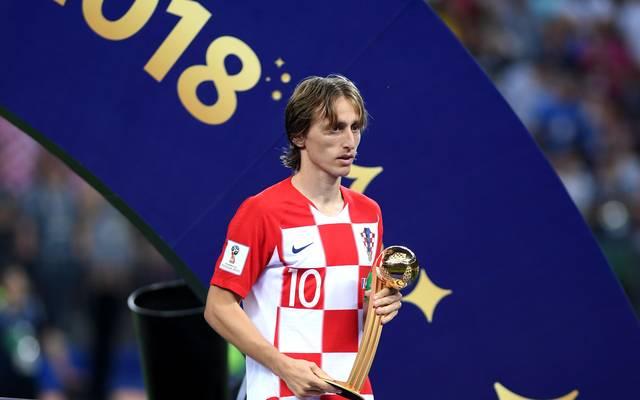 Lukas Modric konnte sich über die persönliche Auszeichnung nicht wirklich freuen