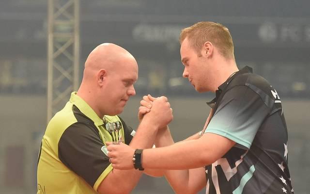 Max Hopp will den Platz von Michael van Gerwen einnehmen