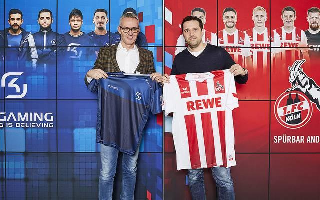 Der 1. FC Köln und SK Gaming kooperieren ab sofort.