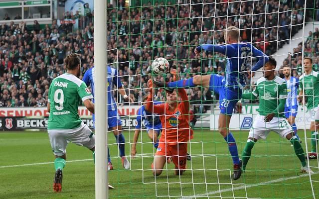 Bundesliga: Werder Bremen - Hertha BSC 3:1 - Harnik mit Slapstick-Tor