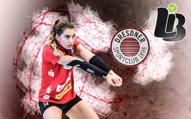 Dresdner SC - Ladies in Black Aachen LIVE im TV auf SPORT1