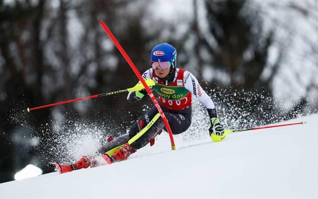 Mikaela Shiffrin ist die Topfavoritin auf Gold im Slalom