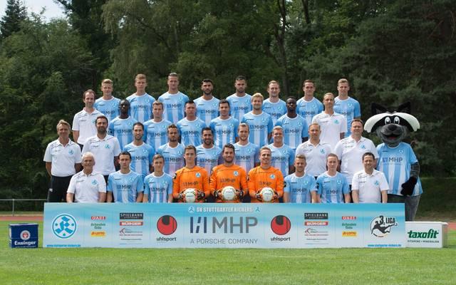 Mannschaftsfoto von Stuttgarter Kickers
