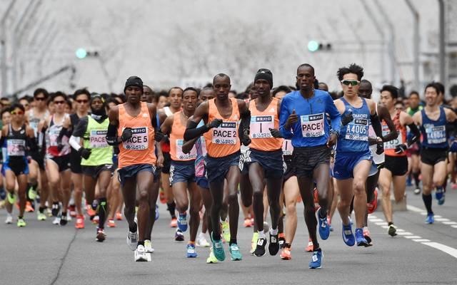 Der Olympia-Marathon in Tokio wird schon um 6 Uhr Ortszeit gestartet