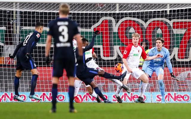 Salomon Kalou rettete der Hertha einen Punkt
