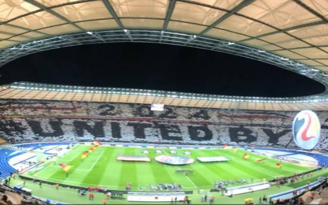 """""""United by Football"""" lautet der Slogan für die deutsche Bewerbung für die EM 2024"""