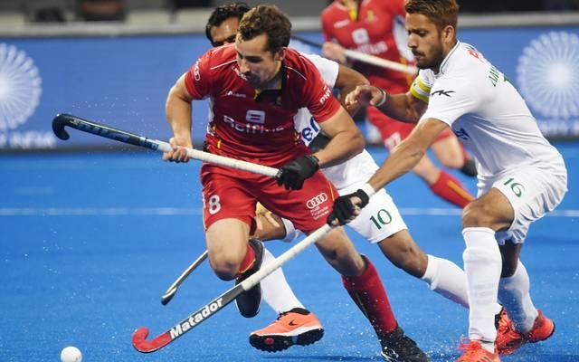 Belgien setzte sich in der Überkreuz-Partie gegen Pakistan durch.