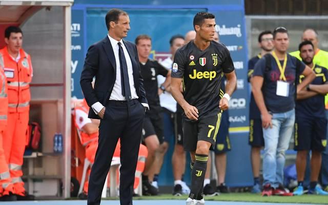 Trainer Massimiliano Allegri will Cristiano Ronaldo auch einmal eine Pause gönnen