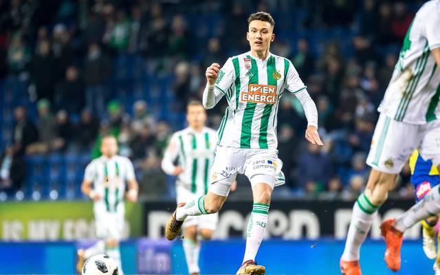 Dejan Ljubicic spielt bei Rapid Wien, seitdem er neun Jahre ist