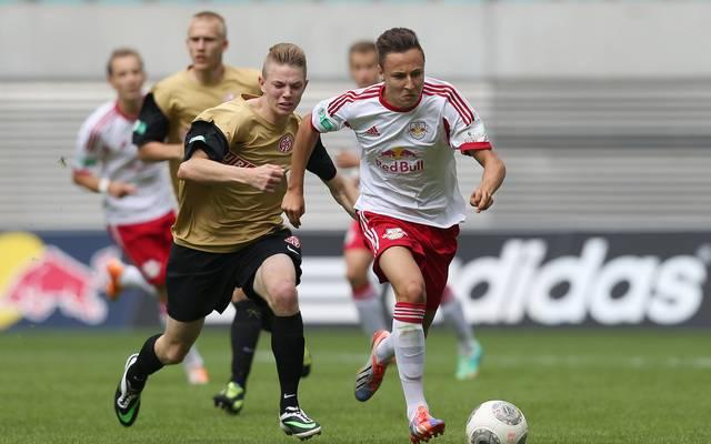 RB Leipzig v 1. FSV Mainz 05 - B Juniors Bundesliga Semi Final