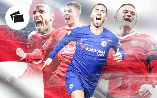 Henry, Gerrard, Hazard und Rooney: Sie alle erzielten 100 Tore für einen einzigen Klub