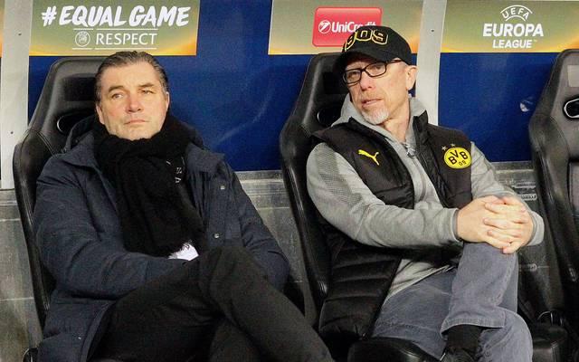 Arbeiten Michael Zorc und Peter Stöger auch noch nächste Saison beim BVB zusammen?