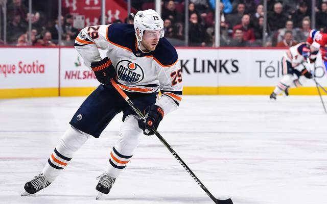 Leon Draisaitl spielt seit 2015 bei den Edmonton Oilers