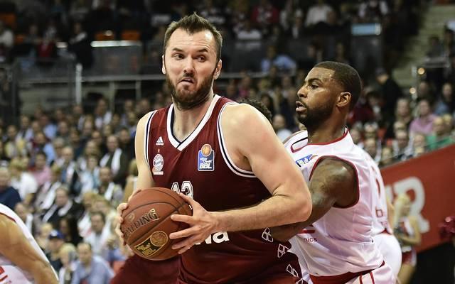 FC Bayern Basketball: Milan Macvan erleidet schwere Knie-Verletzung