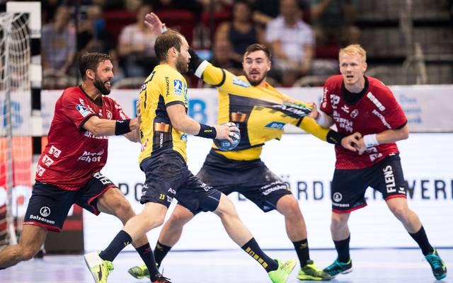 Handball: Rhein-Neckar Löwen gewinnen Supercup gegen SG Flensburg-Handewitt