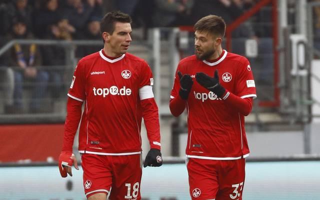 Christoph Moritz und Lukas Spalvis spielen für den 1. FC Kaiserslautern