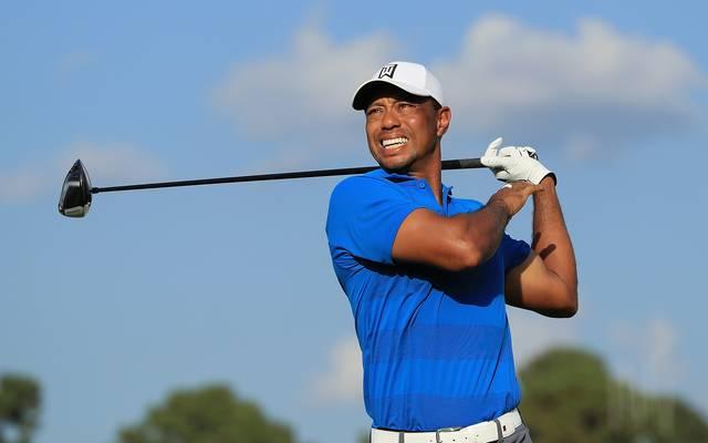 Golf: Tiger Woods winkt 80. Turniersieg nach Birdie-Gala am Samstag