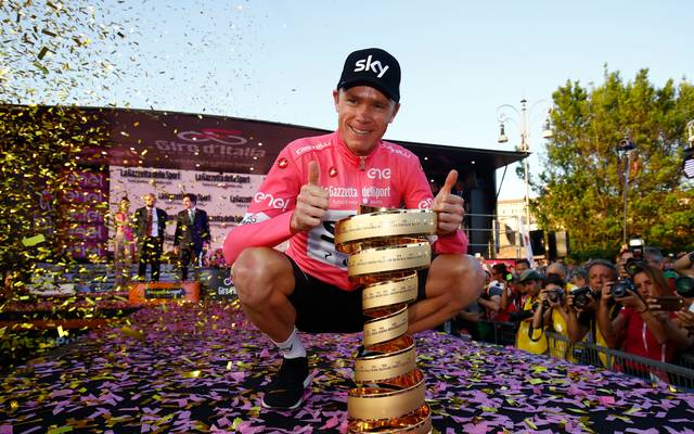 Christopher Froome gewann den Giro d'Italia 2018