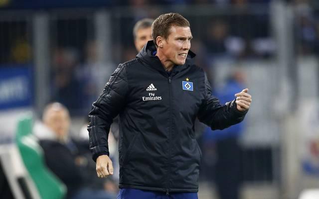 Hannes Wolf folgte beim Hamburger SV als Chefcoach auf Christian Titz