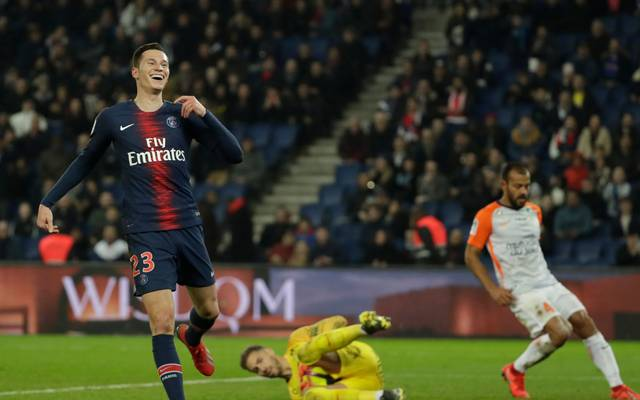 Julian Draxler stand gegen Montpellier in der Anfangsformation