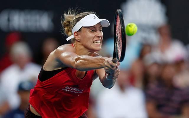 Angelique Kerber setzte sich im Halbfinale von Sydney gegen Camila Giorgi durch
