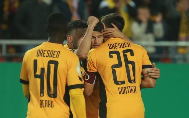 Dynamo Dresden kann gegen die TuS Koblenz doppelt jubeln