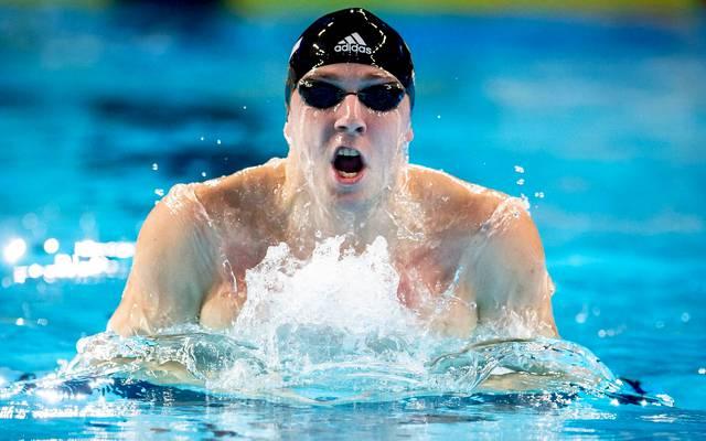 Schwimmen: Marco Koch darf sich über Bronze bei der Kurzbahn-EM in in Hangzhou freuen