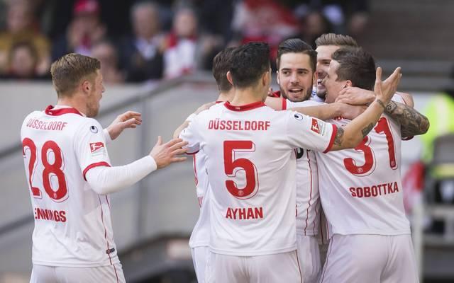 Fortuna Düsseldorf beendet die Negativserie von drei Spielen ohne Sieg